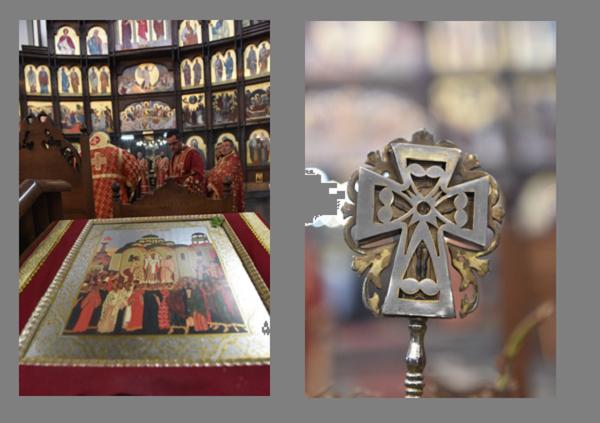 Архиепископот за Крстовден служеше во Скопје