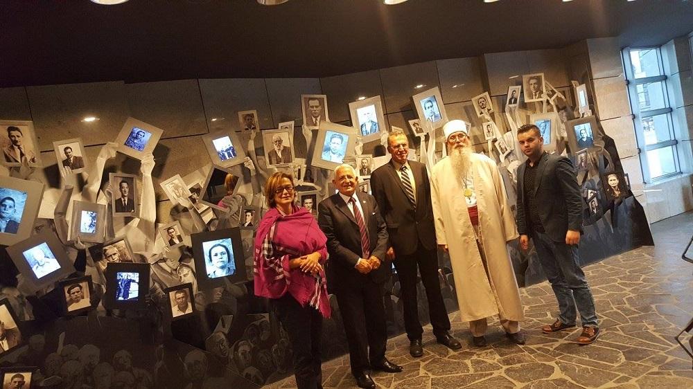 Дервишот од Тетово во посета на Музејот на Холокаустот во Скопје
