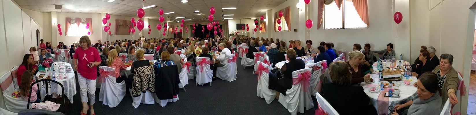 """Хуманитарен појадок на """"Розевата панделка"""" во Црквата Света Петка во Сиднеј"""