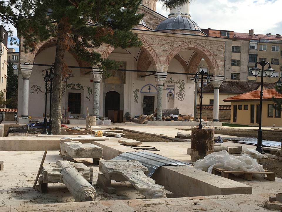 Џамијата Хајдар Кади во Битола го враќа сјајот