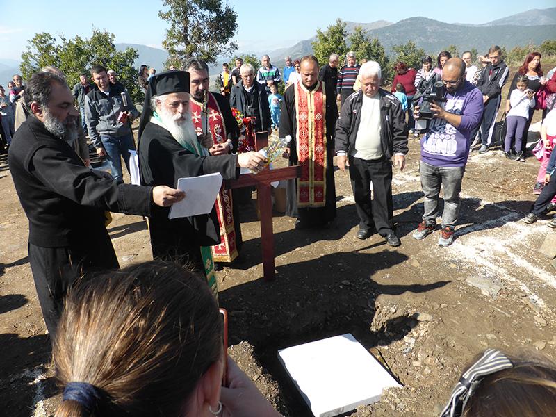 Почна градбата на новиот манастир во Ропотово – прилепско
