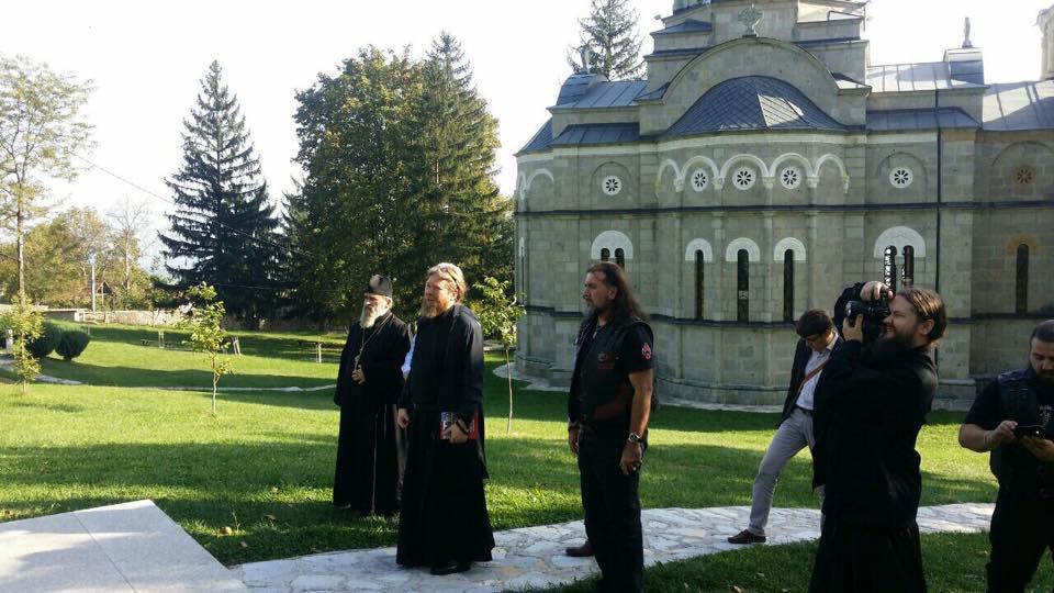 Лешочкиот манастир беше првата дестинација на рускиот епископ Тихон во Македонија