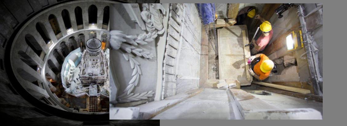 По векови исчекување, изложена Исусовата гробница
