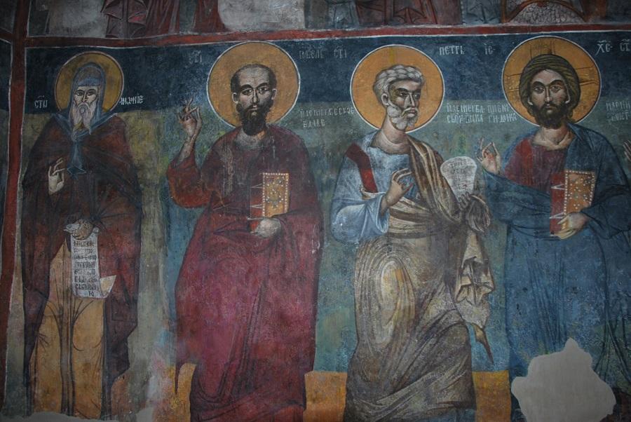 """Рестраврација на фрескоживописите во црквите """"Св.Никола"""" во Љуботен и """"Св.Петка"""" во Побожје"""