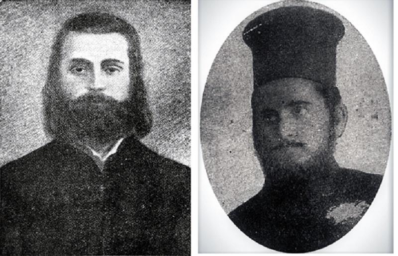 Јеромонах Партениј, игумен на Бигорски и о. Иван Аврамов Чупаров