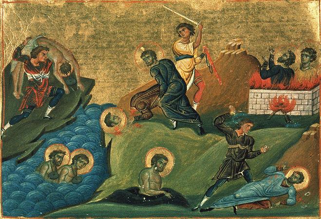Во спомен на масакрот врз никомидиските христијани