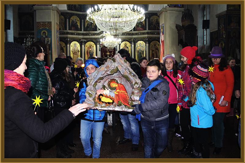 На Бадник најмасовно најавување на Христовото Раѓање