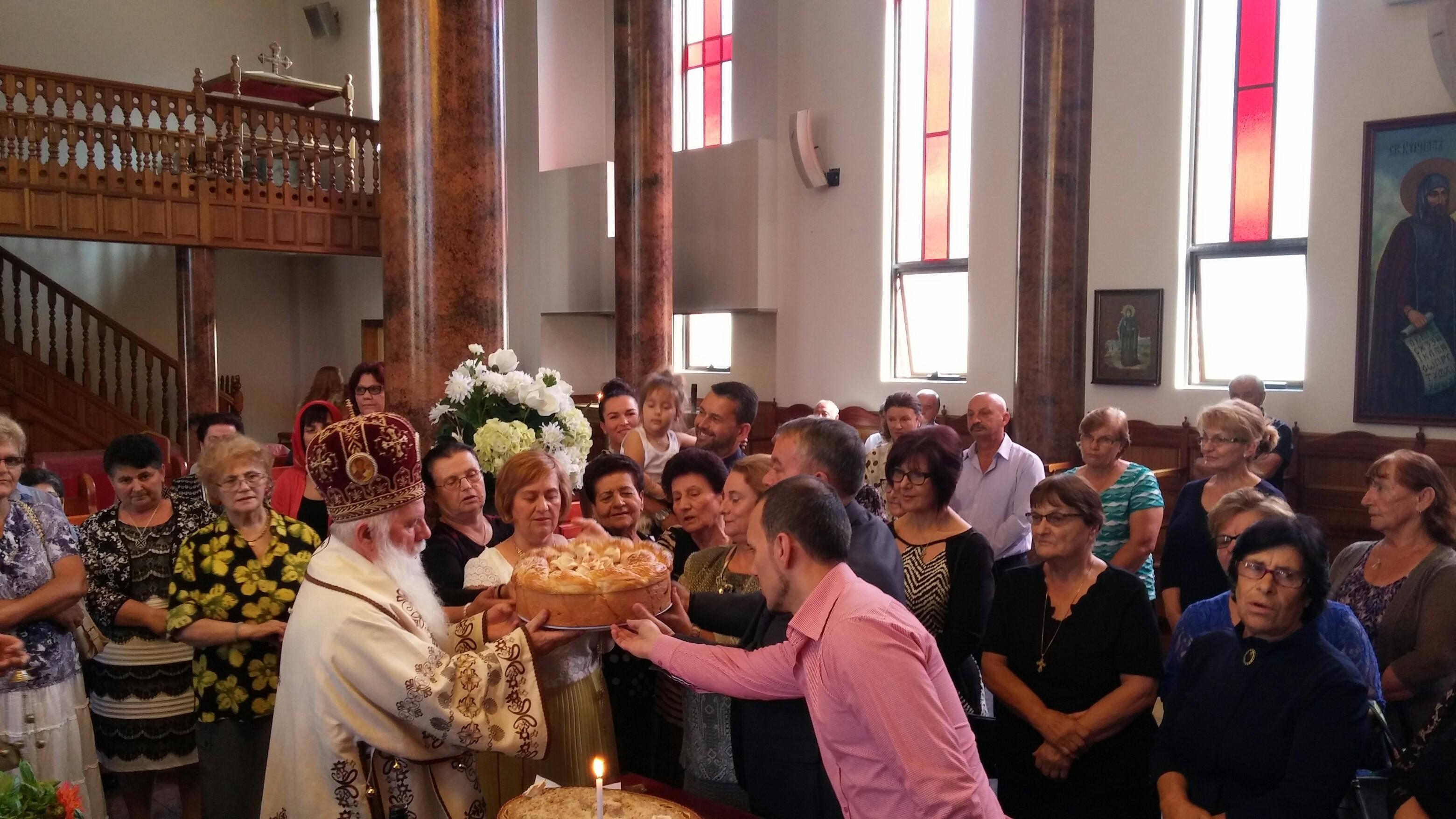 Духовна исполнетост на Македонците во Австралија со г. Тимотеј