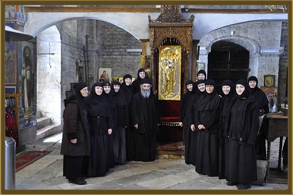 Првата литургија на новото сестринство во кичевскиот манастир