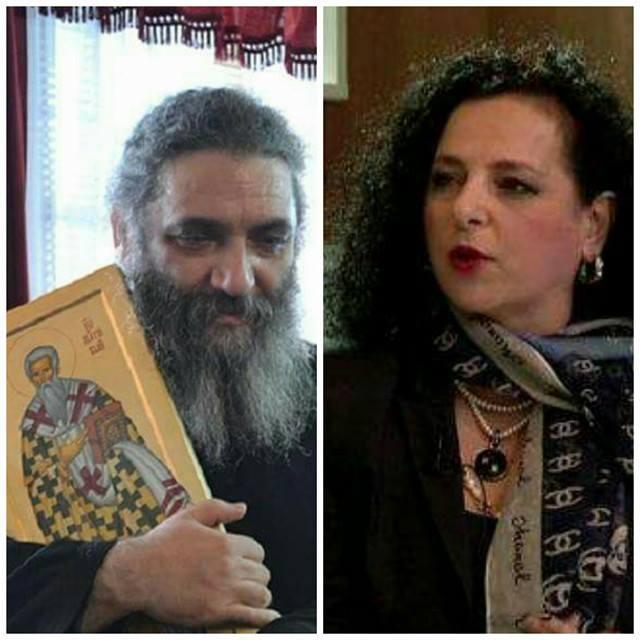 Божиновска му го честиташе именденот на отец Партениј