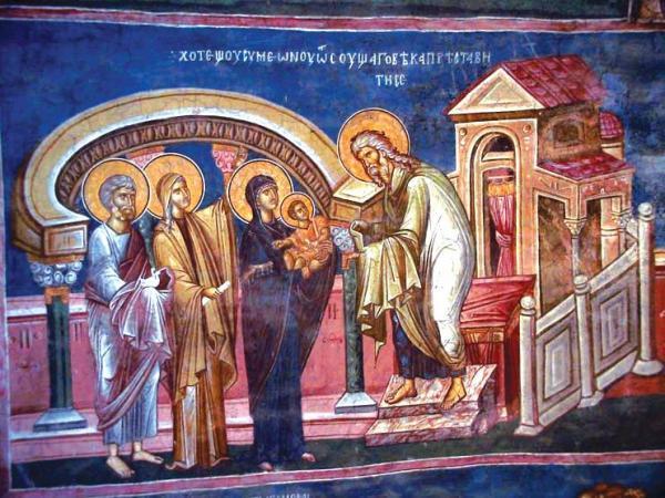 Што значи празникот Сретение Христово