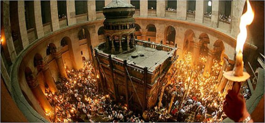 Затворена црквата на  Светиот Гроб Христов во Ерусалим