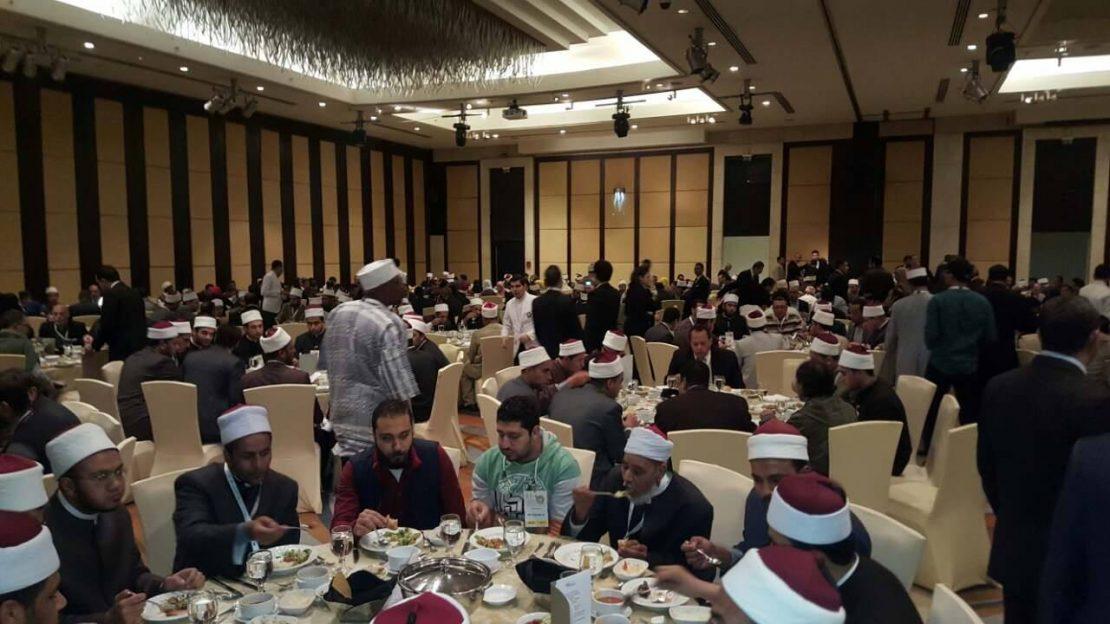 Поглаварот на ИВЗ, Реџепи на меѓународна конференција за соживот во Египет