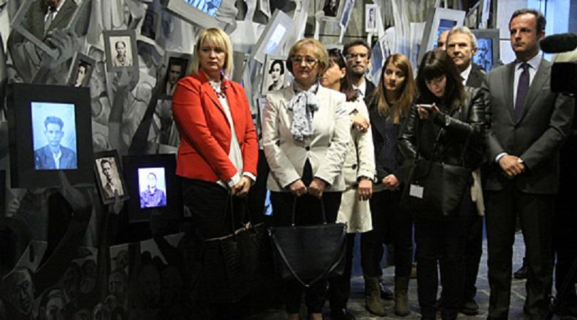 Одбележан Јом Ашоа – ден на сеќавање на холокаустот