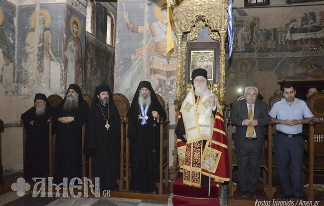 Албанскиот Архиепископ за прв пат ја посети Света Гора