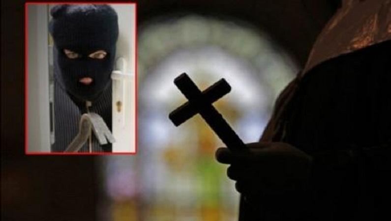 Се помолил во црква, па ја ограбил