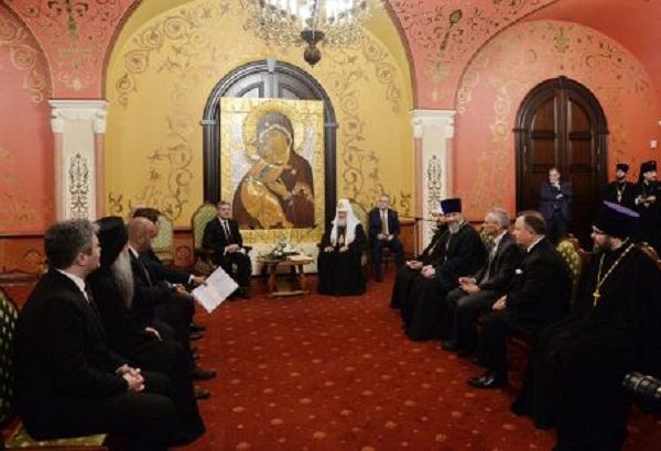 Рускиот патријарх кирил побара унапредување на соработката меѓу универзитетот  Свети Кирил и Методиј и руските богословски институции