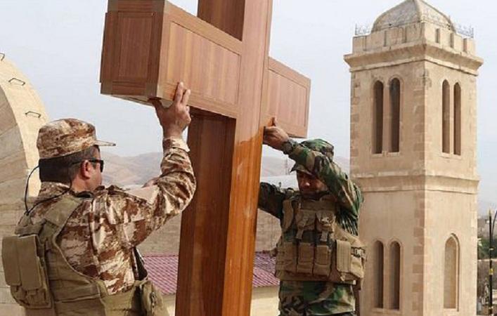 Ирак: свештеници помагаат во возобнова на домовите на христијаните на ослободените територии