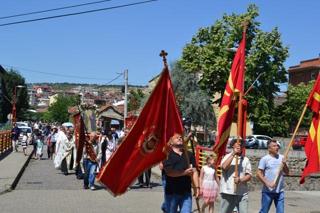 Литија за заштитниците на Кочани