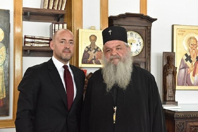Архиепископот на средба со УНИЦЕФ