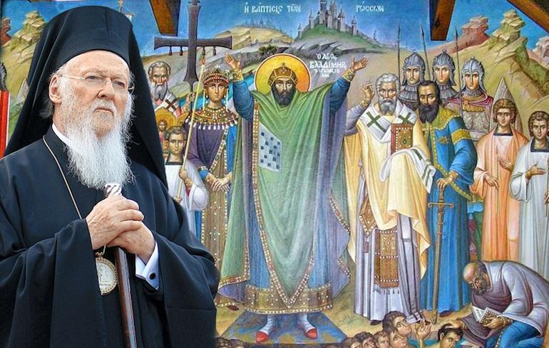 ВАРТОЛОМЕЈ  Вселенската Патријаршија е мајка црква на украинскиот народ