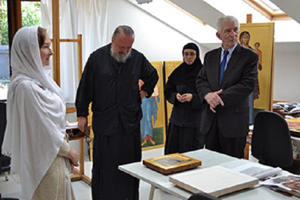 Рускиот амбасадор во посета на владиката Наум