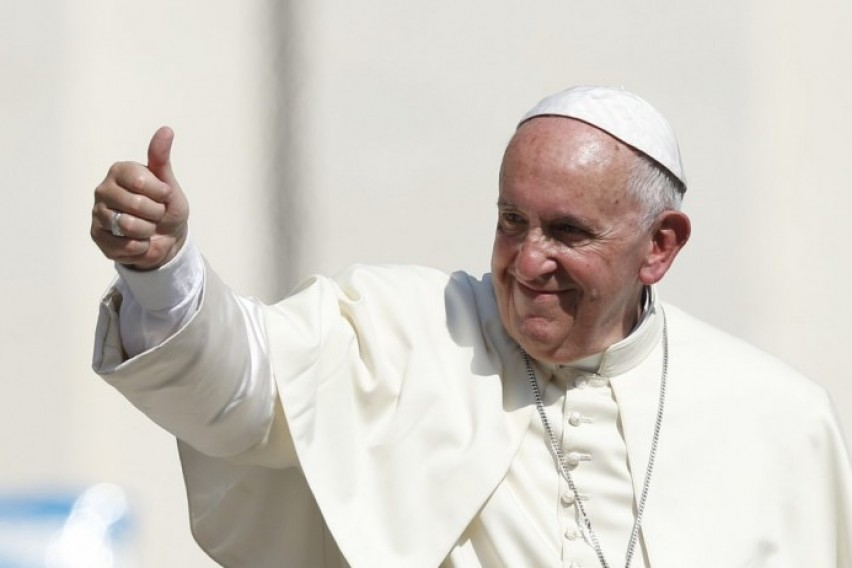 Папата Франциск повика на обединување на христијаните