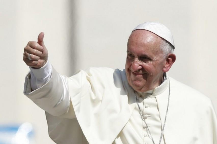 Папата Франциск најпопуларна личност за 2017