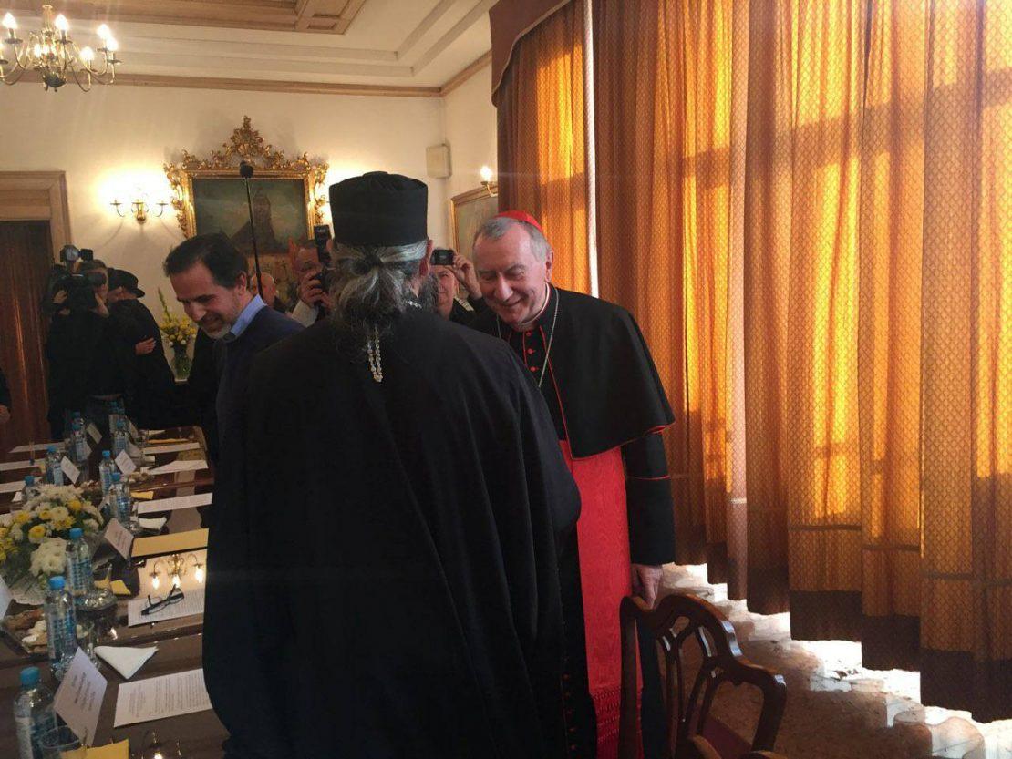 Владиката Пимен се сретна со државниот секретар на Ватикан
