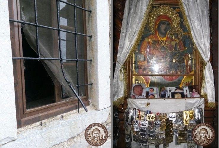 Крадци ограбија манастир на Света Гора
