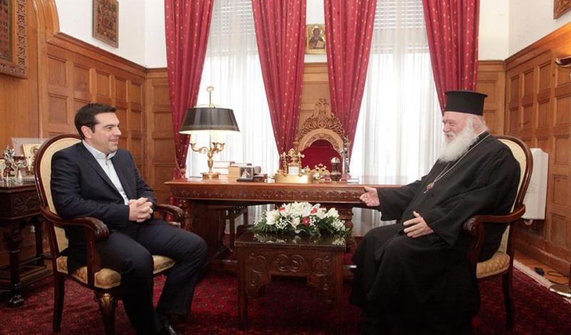 Ципрас го информирал грчкиот Архиепископ за предлогот на Нимиц