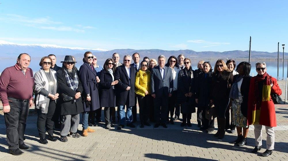 Иванов и дипломатскиот кор за Водици во Нов Дојран