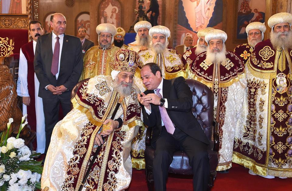Kopti egipet pretsedatel 1