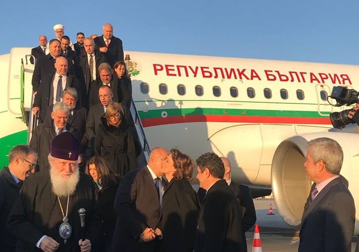 Главниот Муфтија на Бугарија дел од делегацијата која беше на осветувањето на црквата во Истанбул