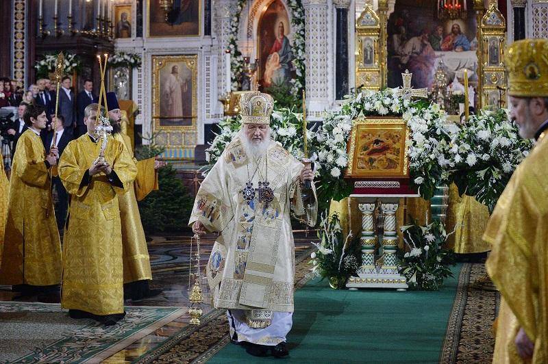 Официјални податоци: Според МВР на Русија, во црква за Божик биле 1.78 % од Русите