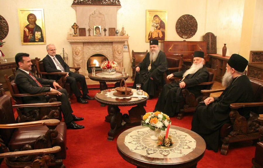 Археипископот ги седна Џафери и Заев, Иванов не дојде на Божикниот ручек