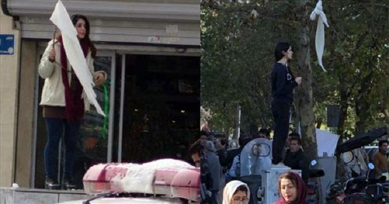 Жените во Иран протестираа против присилното носење хиџаб