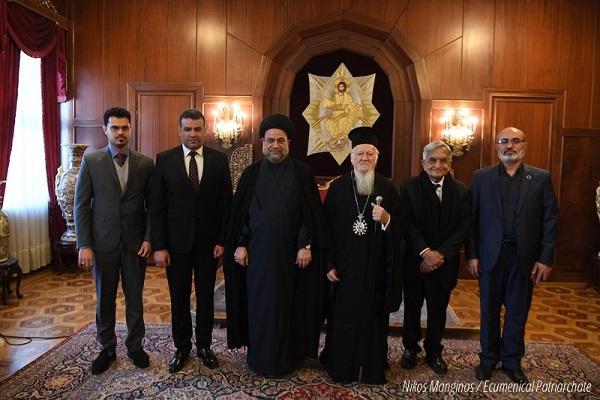 Ирачкиот муслимански лидер и Вселенскиот патријарх разговараа за враќање на христијаните во Ирак