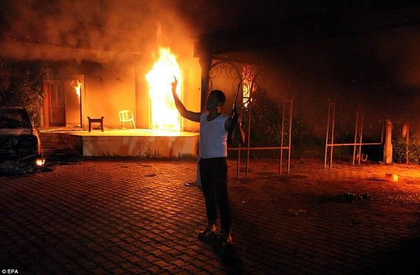 Најмалку две лица загина при напад врз џамија во Бенгази