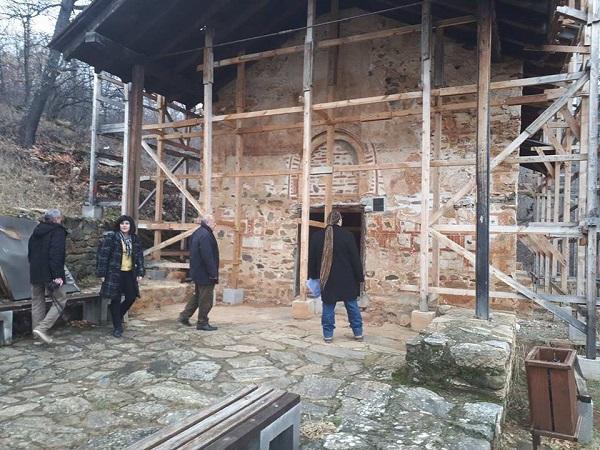 Ангелите од Курбиново ќе бидат спасени, црквата реставрирана
