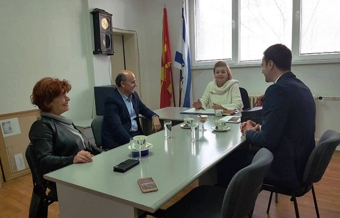 Директорот на КОВРГ на средба со Берта Романо Николоќ