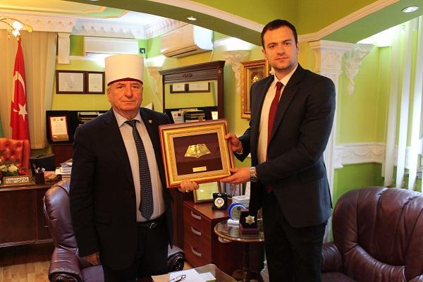 Прва средба на Поглаварот на ИВЗ со директорот на Комисијата за односи со верските заедници