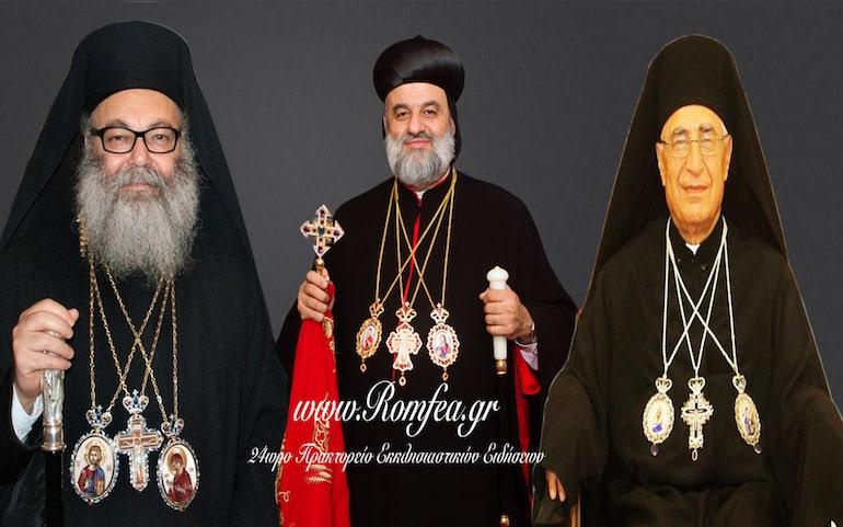 Нападот на Сирија ги обедини православните, коптите и унијатите во Сирија