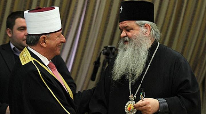 Поглаварите на верските заедници на Велигден кај Архиепископот Стефан