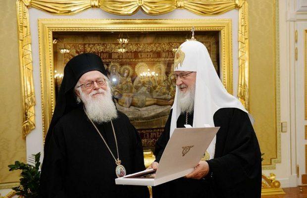 Патријарх Кирил: Мојата посета на Албанија е ново поглавје во односите меѓу сите братски цркви