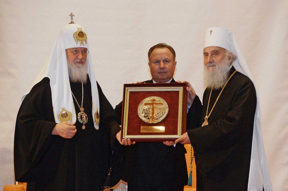 Руската црква ја штити СПЦ во Македонија, СПЦ руската црква во Украина