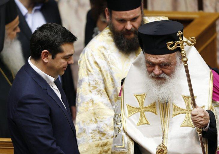 Ципрас сака да ја одвои грчката црква од државата