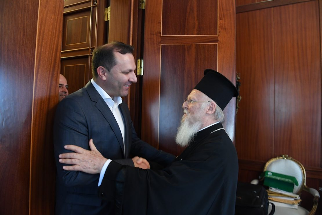 Спасовски: Очекувам динамичен дијалог со Вселенската патријаршија за надминување на проблемите на МПЦ