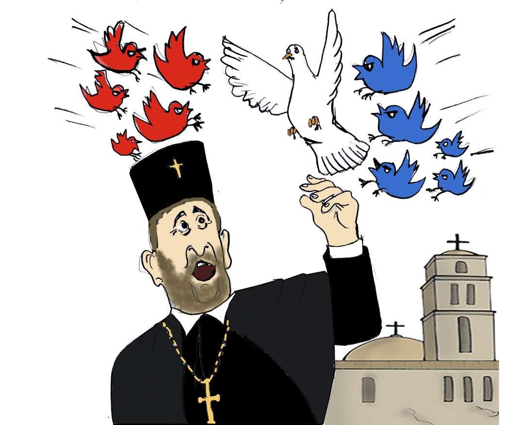 Политичарите агитираат и во верските храмови