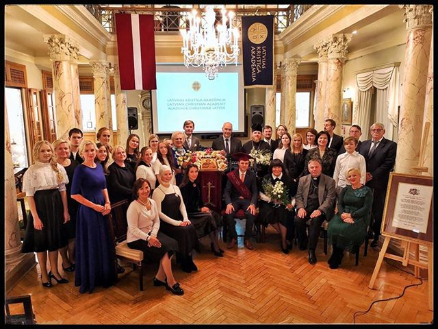 Георги Гоце Дуртаноски стана почесен доктор на Летонската христијанска академија